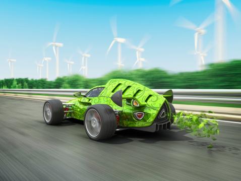 Hot Rod Car「eco racecar」:スマホ壁紙(13)