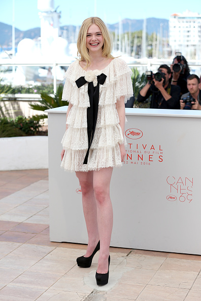 """Elle Fanning「""""The Neon Demon"""" Photocall - The 69th Annual Cannes Film Festival」:写真・画像(15)[壁紙.com]"""