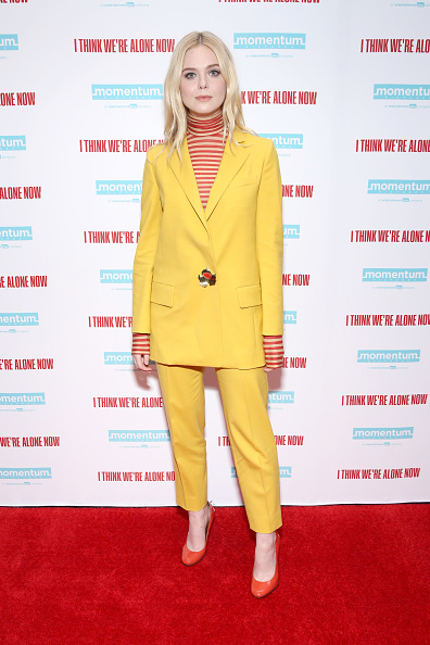 Elle Fanning「Cast At The New York Special Screening Of 'I Think We're Alone Now'」:写真・画像(17)[壁紙.com]