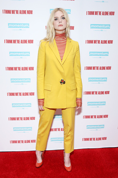Elle Fanning「Cast At The New York Special Screening Of 'I Think We're Alone Now'」:写真・画像(10)[壁紙.com]