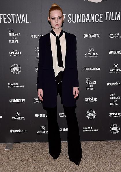 "Elle Fanning「""Sidney Hall"" Premiere - 2017 Sundance Film Festival」:写真・画像(12)[壁紙.com]"