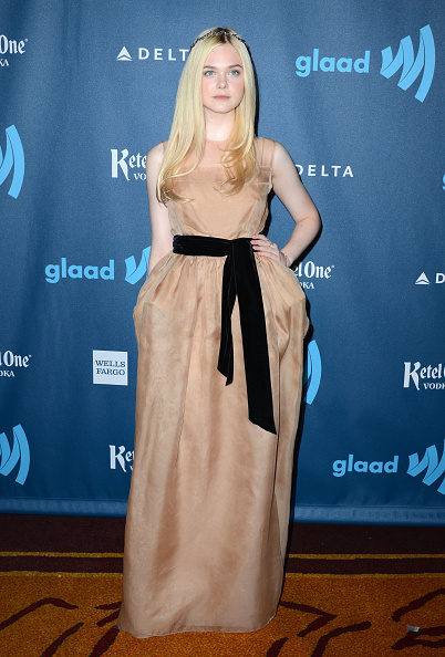 Nude Colored Dress「Red Carpet - 24th Annual GLAAD Media Awards」:写真・画像(1)[壁紙.com]