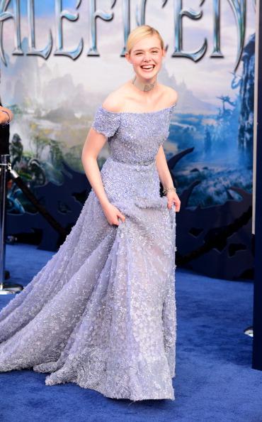 "Elle Fanning「World Premiere Of Disney's ""Maleficent"" - Arrivals」:写真・画像(10)[壁紙.com]"