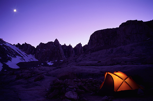 Inyo National Forest「Camping near Mount Whitney」:スマホ壁紙(4)