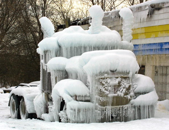 Ice Sculpture「Sub-zero Temperatures Freeze Fire Water Near Chicago」:写真・画像(16)[壁紙.com]