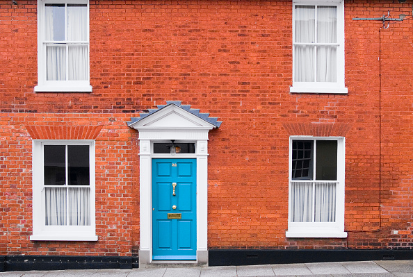 Door「Terraced Victorian town house, Woodbridge, Suffolk, UK」:写真・画像(4)[壁紙.com]