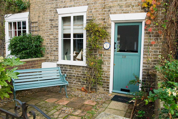 Front or Back Yard「Terraced Victorian cottage, Woodbridge, Suffolk, UK」:写真・画像(16)[壁紙.com]