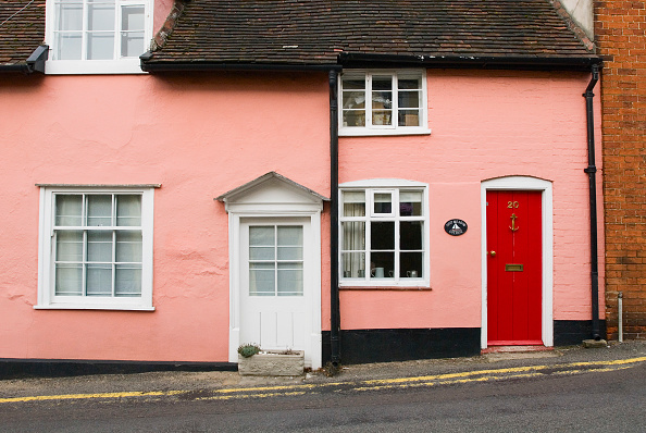 Front Door「Terraced Victorian cottage, Woodbridge, Suffolk, UK」:写真・画像(16)[壁紙.com]