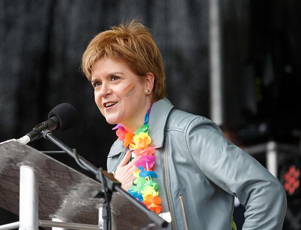 Headshot「Nicola Sturgeon Opens Glasgow Pride」:写真・画像(11)[壁紙.com]