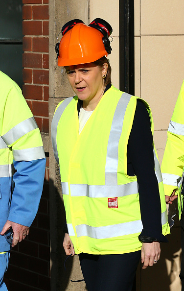 Finance and Economy「The First Minister Visits The Tata Steelworks In Lanarkshire」:写真・画像(6)[壁紙.com]