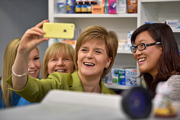 Photography Themes「SNP Leader Nicola Sturgeon Unveils An Anti-Austerity Plan To Boost the NHS」:写真・画像(18)[壁紙.com]