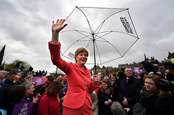 Incidental People「Nicola Sturgeon Completes Her Election Campaigning In Edinburgh」:写真・画像(7)[壁紙.com]