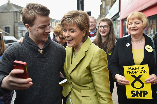 Photography Themes「SNP Leader Nicola Sturgeon Unveils An Anti-Austerity Plan To Boost the NHS」:写真・画像(19)[壁紙.com]