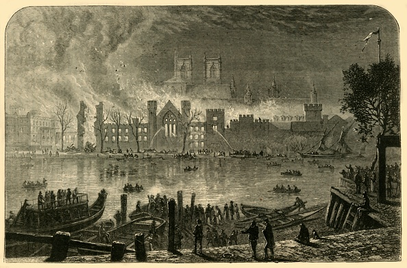Water's Edge「Destruction Of The Old Houses Of Parliament」:写真・画像(19)[壁紙.com]