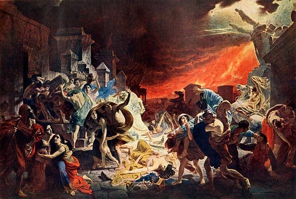 Ancient Civilization「Destruction Of Pompeii」:写真・画像(13)[壁紙.com]