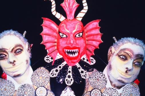 Brazilian Carnival「masks」:スマホ壁紙(1)
