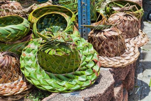 Frond「Handmade hats from palm fronds」:スマホ壁紙(12)