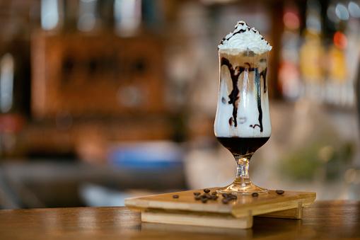 Dessert「Coffee With Cream Sauce」:スマホ壁紙(7)