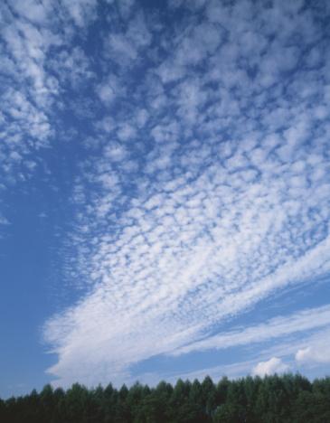 雲「Cirrocumulus cloud, Nagano, Nagano Prefecture, Japan」:スマホ壁紙(8)