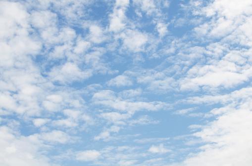 巻積雲「Cirrocumulus clouds」:スマホ壁紙(13)