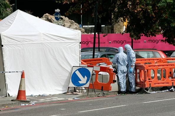 Roped Off「Man killed In London Shooting」:写真・画像(5)[壁紙.com]
