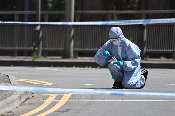 Forensic Science「Scenes In Reading After Three People Stabbed To Death At The Weekend」:写真・画像(4)[壁紙.com]