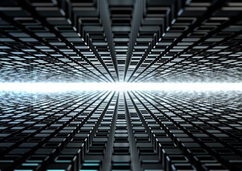 Virtual Reality「techno background」:スマホ壁紙(6)