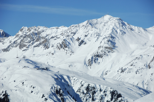 St Anton am Arlberg「Valluga summit and Galzig ski-slope」:スマホ壁紙(10)