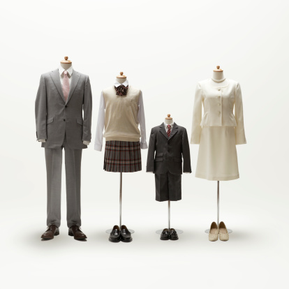 Clothing「Family mannequin dressing formal wear.」:スマホ壁紙(15)