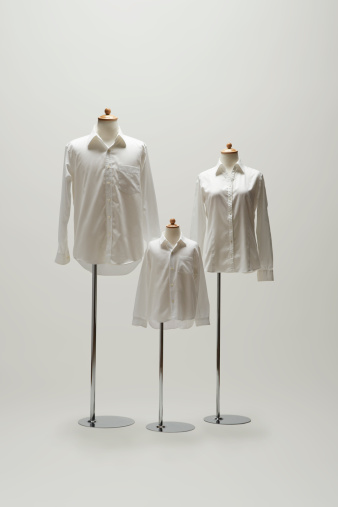 Family「family mannequin dressing a white shirt.」:スマホ壁紙(7)