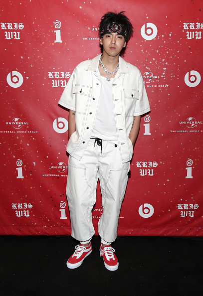 Gold Chain Necklace「Interscope Records And Beats Present 'The Antares Experience' - An Album Release Party For Kris Wu」:写真・画像(19)[壁紙.com]