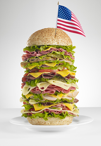 Delicatessen「huge american sandwich」:スマホ壁紙(12)