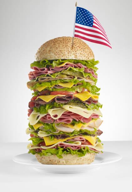 huge american sandwich:スマホ壁紙(壁紙.com)