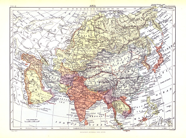Asia「Map Of Asia」:写真・画像(14)[壁紙.com]