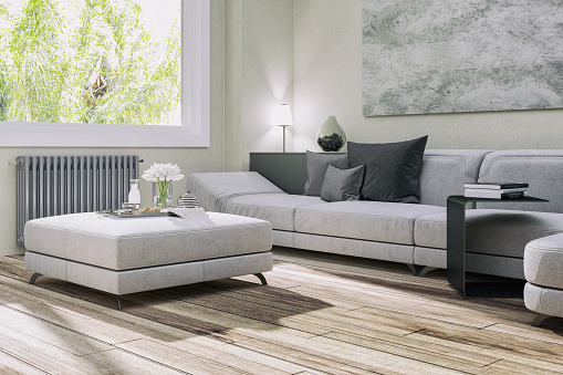 Simple Living「Cozy modern sofa」:スマホ壁紙(14)