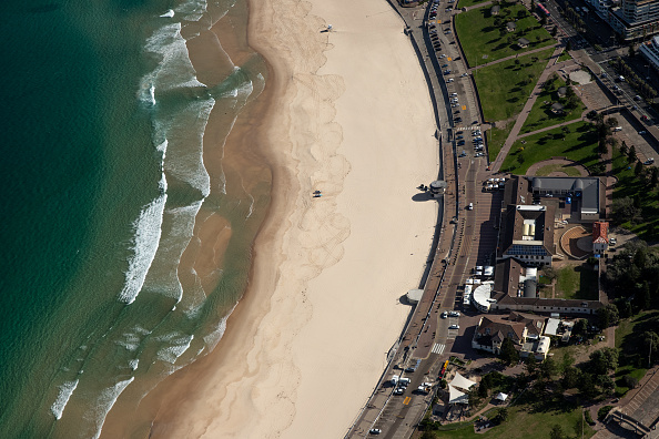 Aircraft Point of View「Aerial Views Of Sydney As Australia Sees Steady Decline In New Coronavirus Cases」:写真・画像(17)[壁紙.com]