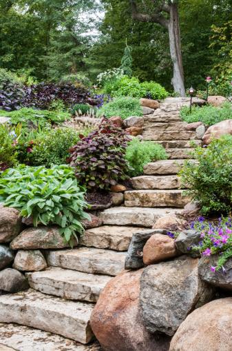 Garden Path「Natural Stone Landscaping」:スマホ壁紙(8)