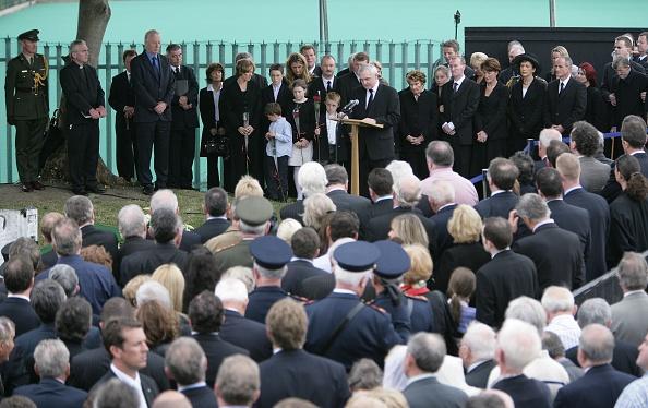 Politician「Funeral Of Charles Haughey Former Irish PM」:写真・画像(13)[壁紙.com]