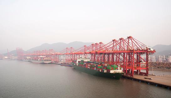 Pacific Ocean「Ganji Terminal. Ningbo Port」:スマホ壁紙(9)