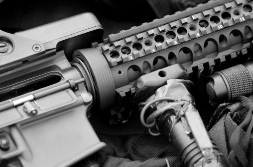 Machine Gun「AR-15 Assault Rifle」:スマホ壁紙(10)
