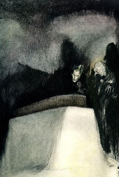 絵「Edgar Allan Poe 's 'The Fall of the House of Usher'」:写真・画像(17)[壁紙.com]