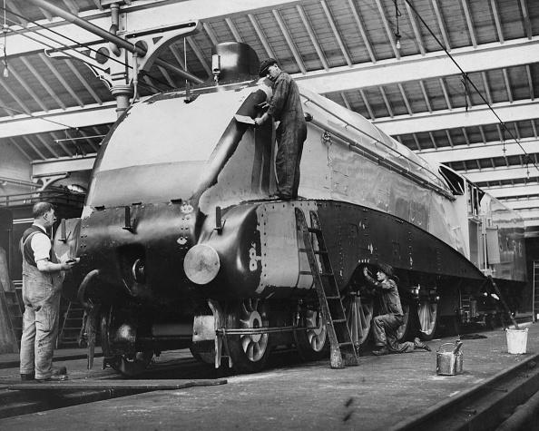 Aerodynamic「LMS Silver Jubilee Streamlined Locomotive」:写真・画像(8)[壁紙.com]
