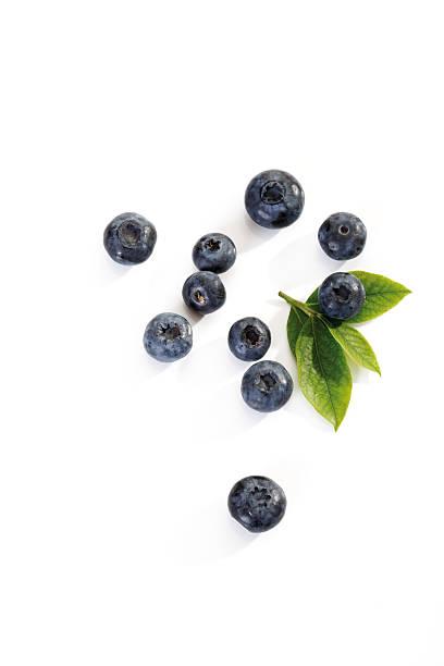 Blueberries, elevated view:スマホ壁紙(壁紙.com)
