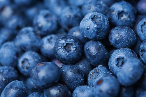 Healthy Eating「Blueberries」:スマホ壁紙(19)