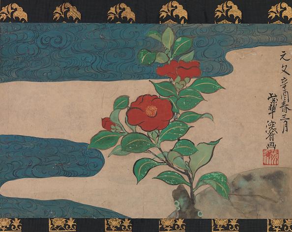 Petal「Camellia By Water」:写真・画像(1)[壁紙.com]