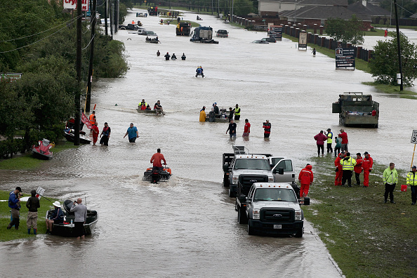 Houston - Texas「Epic Flooding Inundates Houston After Hurricane Harvey」:写真・画像(12)[壁紙.com]