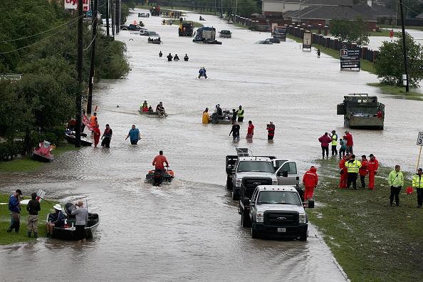 2017 Hurricane Harvey「Epic Flooding Inundates Houston After Hurricane Harvey」:写真・画像(14)[壁紙.com]