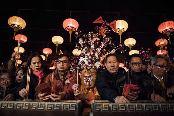 Chinese New Year「Chinese New Year Celebrations In Hong Kong」:写真・画像(7)[壁紙.com]