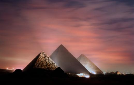 Pyramid Shape「Pyramids, Giza, Egypt」:スマホ壁紙(15)