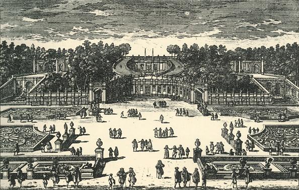 Flowerbed「The Amphitheatre Of The Villa Pamphili」:写真・画像(19)[壁紙.com]